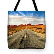 Road To Navajo Tote Bag