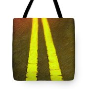 Road To Taos Tote Bag