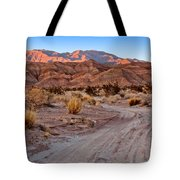 Road To The Badlands Tote Bag
