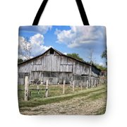 Road To The Barn - Featured In Old Building And Ruins Group Tote Bag