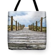 Road To The Dunes Tote Bag