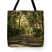 Road To The Enchanted Forest Tote Bag