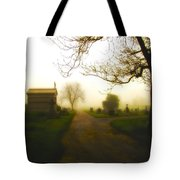 Road To The Mausoleum Tote Bag