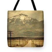 Road To The Mountains Tote Bag