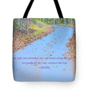 Road To Truth Tote Bag