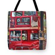 Roadmaster Double Decker 5261 Tote Bag