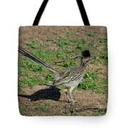 Roadrunner Male With Food Tote Bag