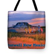 Roadside Attraction At Roswell Tote Bag