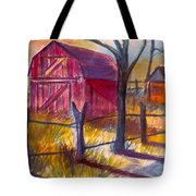 Roadside Barn Tote Bag