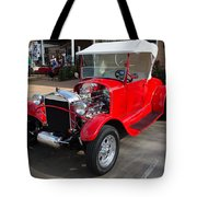 Roadster Redone For Fun Tote Bag