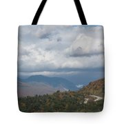 Roadway To Lincoln Tote Bag