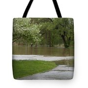 Roadway Turned Boat Launch Tote Bag
