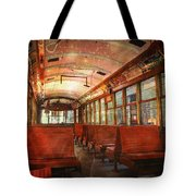 Roaming The Empty Aisles Tote Bag