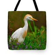 Roaming Through The Field Tote Bag by Tony Beck