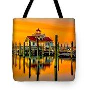 Roanoke Lighthouse Dawn Tote Bag