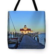 Roanoke Marches Lighthouse Tote Bag
