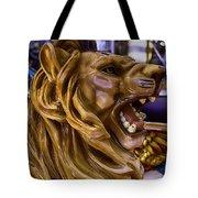 Roaring Lion Ride Tote Bag