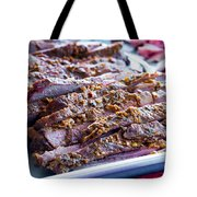 Roast Lamb Is Served Tote Bag