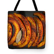 Roasted Pumpkin Slices Tote Bag