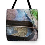 Roasting Coffee Old School Tote Bag