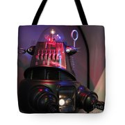 Robby The Robot 1956 Tote Bag