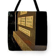Robert E Howard's Gravestone Tote Bag