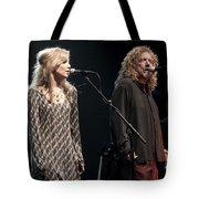 Robert Plant And Alison Kraus Tote Bag
