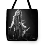 Robert Plant And Jimmy Page Tote Bag