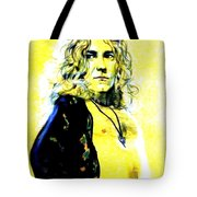 Robert Plant Of Led Zeppelin   Tote Bag