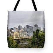 Roberto Clemente Bridge Pittsburgh Pa Tote Bag