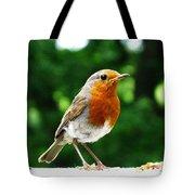 Robin Bird Photograph Tote Bag