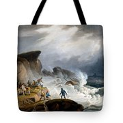 Robin Hoods Bay, Yorkshire, 1825 Tote Bag