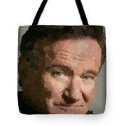 Robin Williams Portait Tote Bag