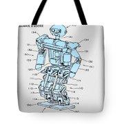 Robot Patent Tote Bag