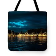 Roche Harbor  At Sunset Tote Bag