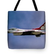 Rochester Air Show Thunderbirds Tote Bag