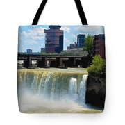 Rochester At High Falls Tote Bag