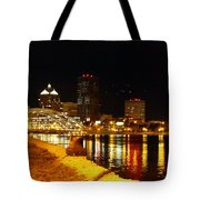 Rochester At Night Tote Bag