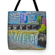 Rochester High Falls Tote Bag