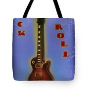 Rock And Roll - Les Paul Tote Bag