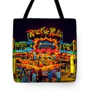 Rock And Roll On The Boardwalk Tote Bag