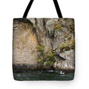 Rock Artwork Tote Bag