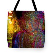 Rock Buddha Tote Bag