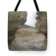 Rock Caves On The Beach Tote Bag