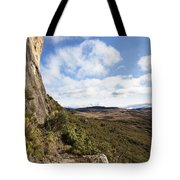 Rock Cliff Southern Madagascar Tote Bag