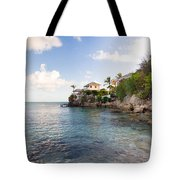 Rock Cottage Tote Bag