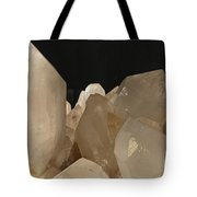 Rock Crystals Tote Bag