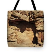 Rock Face 3 Tote Bag