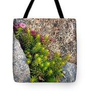 Rock Flower Tote Bag