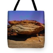 Rock Formation In Canyon De Chelly Tote Bag